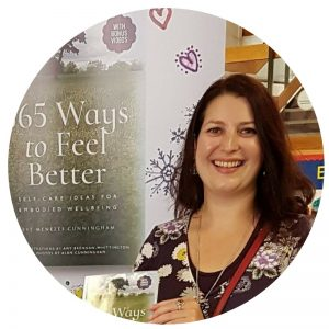 Eve Menezes Cunningham book signing 365 Ways to Feel Better Witham Library