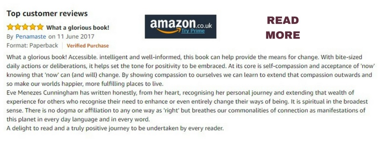 Amazon review for 365 Ways to Feel Better