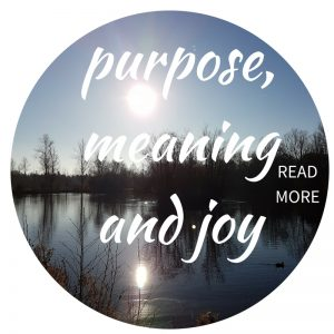 self-care coaching for purpose, meaning and joy