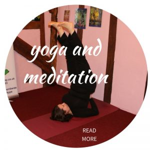 Yoga and meditation with Eve Menezes Cunningham