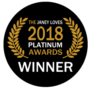 365 Ways to Feel Better winner of a Janey Loves Platinum Award 2018