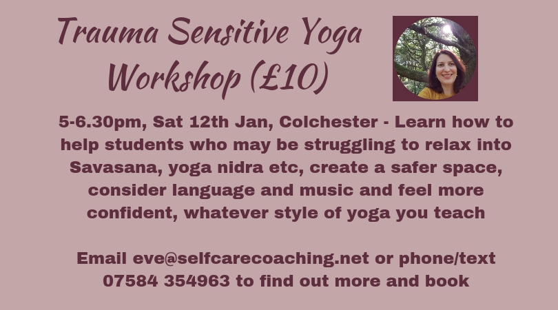 trauma sensitive yoga Eve Menezes Cunningham