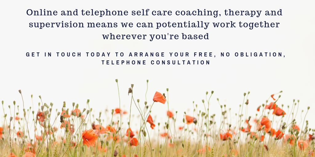 online and telephone self care coaching therapy and supervision