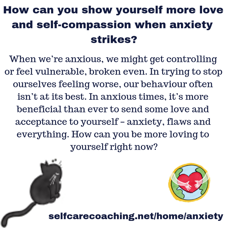self care self compassion and self love for anxiety