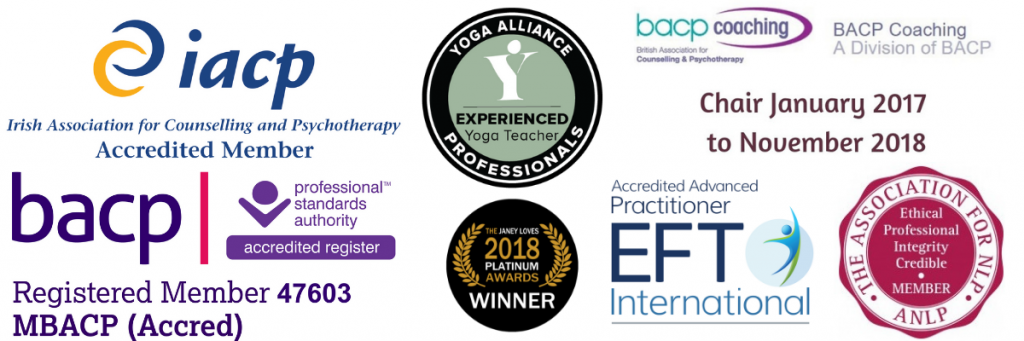 Eve Menezes Cunningham is self care coach, supervisor, BACP and IACP accredited counsellor, EFT International accredited advanced practitioner, Yoga Alliance Experienced Practitioner and Past Chair of BACP Coaching