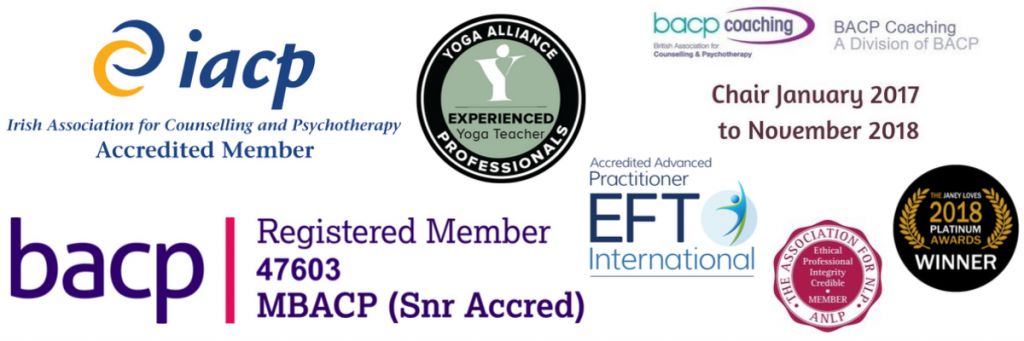Eve Menezes Cunningham BACP Senior Accredited Supervisor of Individuals IACP Accredited Counsellor Past Chair BACP Coaching Experienced Yoga Teacher Yoga Alliance Accredited Advanced EFT Practitioner EFTi
