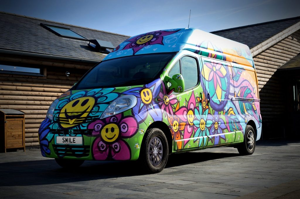 potential car for when I learn to drive psychedelic