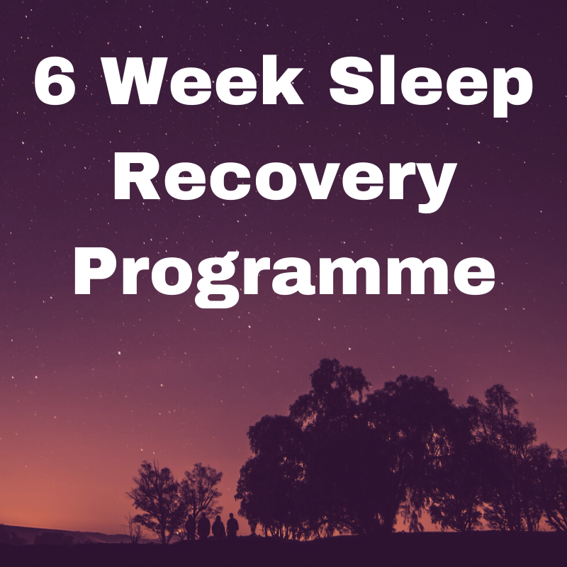 6 Week Sleep Recovery Programme including Lisa Sanfilippo's Simple Sleep Sequence