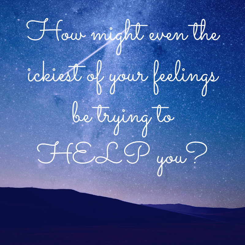How might even the ickiest of your feelings be trying to help you? Feel Better Every Day with Eve Menezes Cunningham