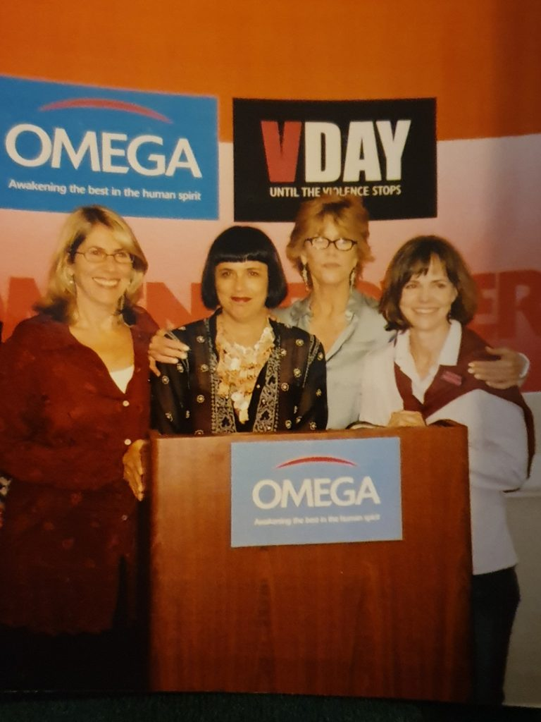 Jane Fonda, Sally Field, Eve Ensler and Elizabeth Lesser
