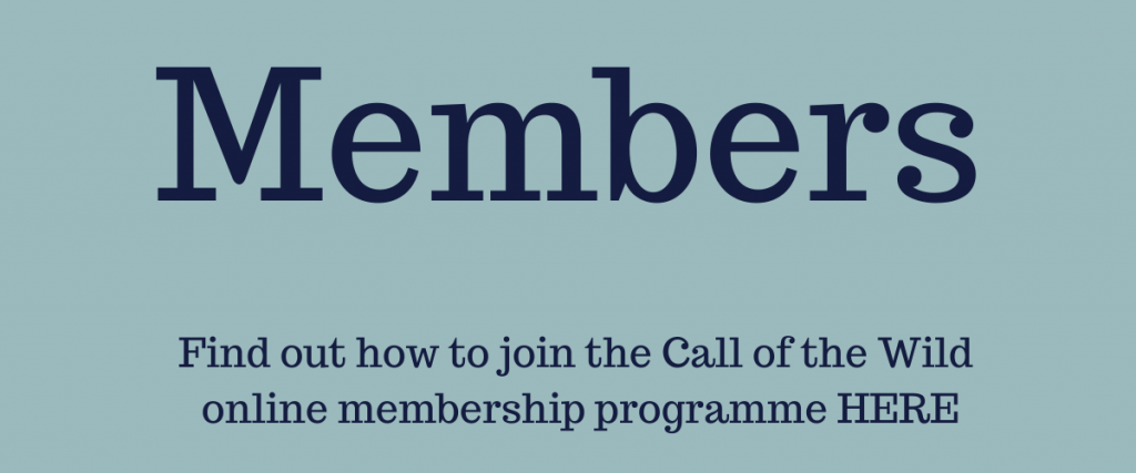 join the Call of the Wild ~ Take Better Care of Your Self online membership programme