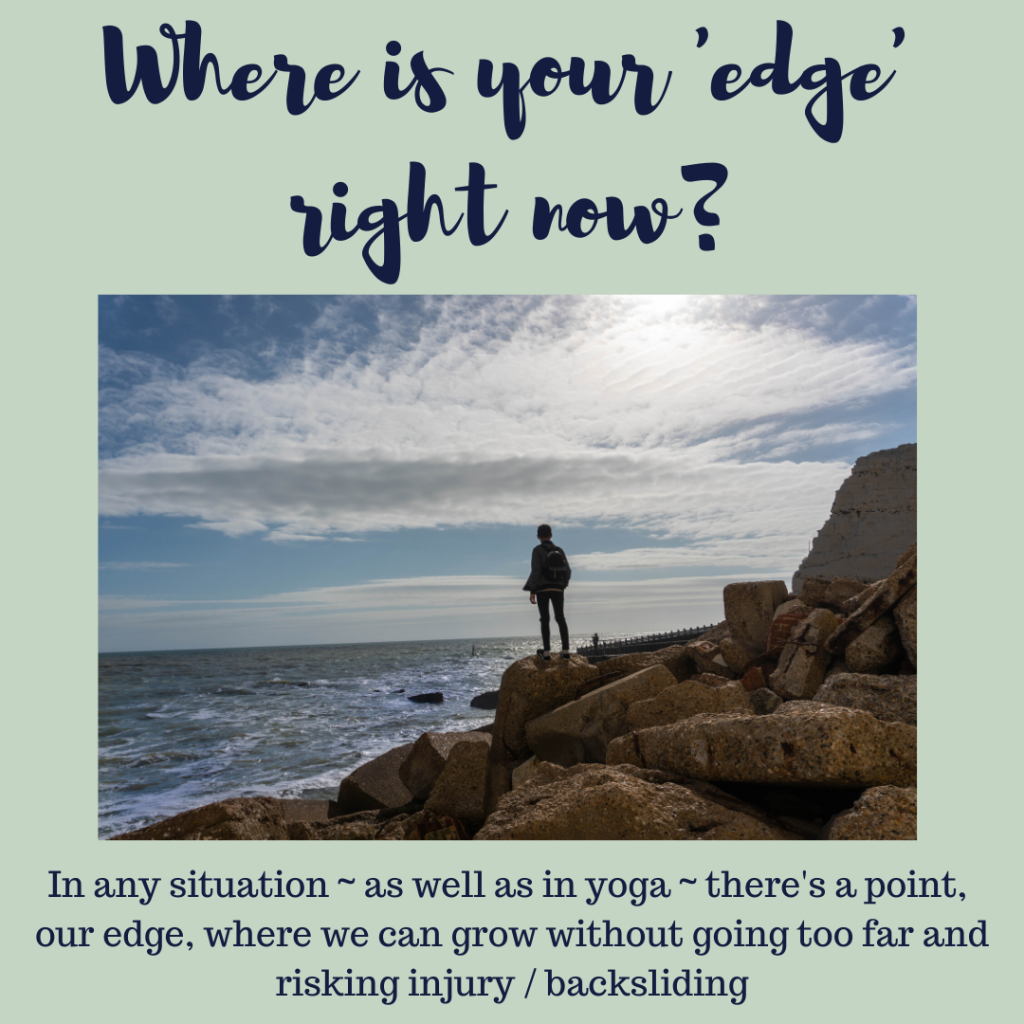 working with your edge Radical Acceptance Feel Better Every Day with Eve Menezes Cunningham