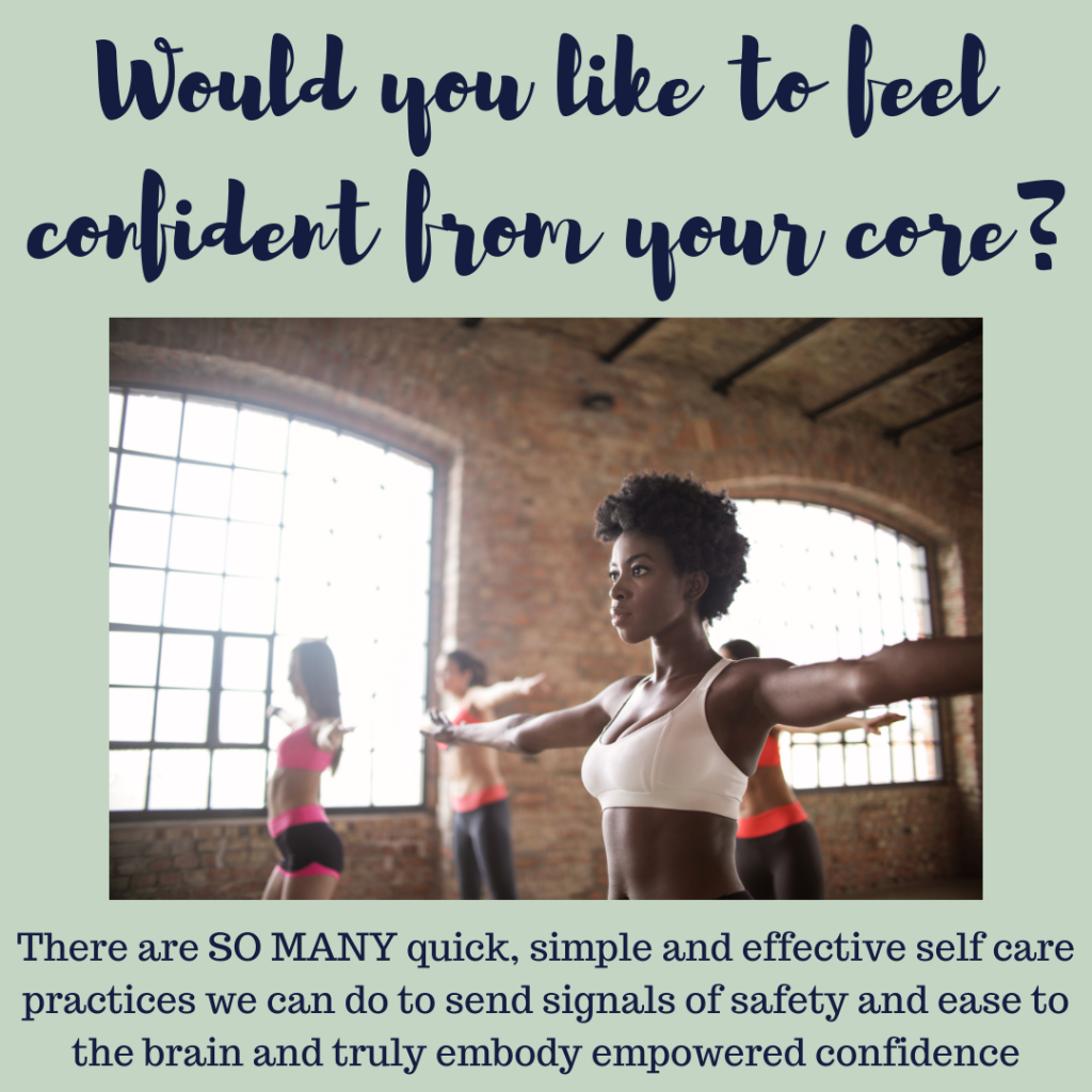 Be confident from your core Feel Better Every Day with Eve Menezes Cunningham