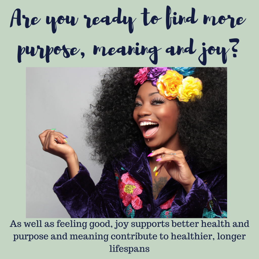 Find more purpose meaning and joy Feel Better Every Day with Eve Menezes Cunningham