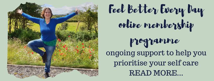 Feel Better Every Day online membership programme