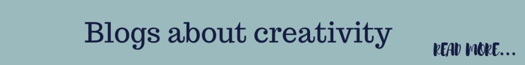 Blogs about creativity by Eve Menezes Cunningham