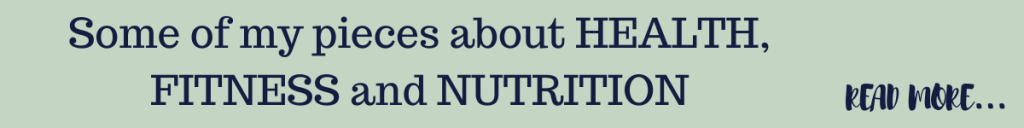 articles about health, fitness and nutrition by Eve Menezes Cunningham