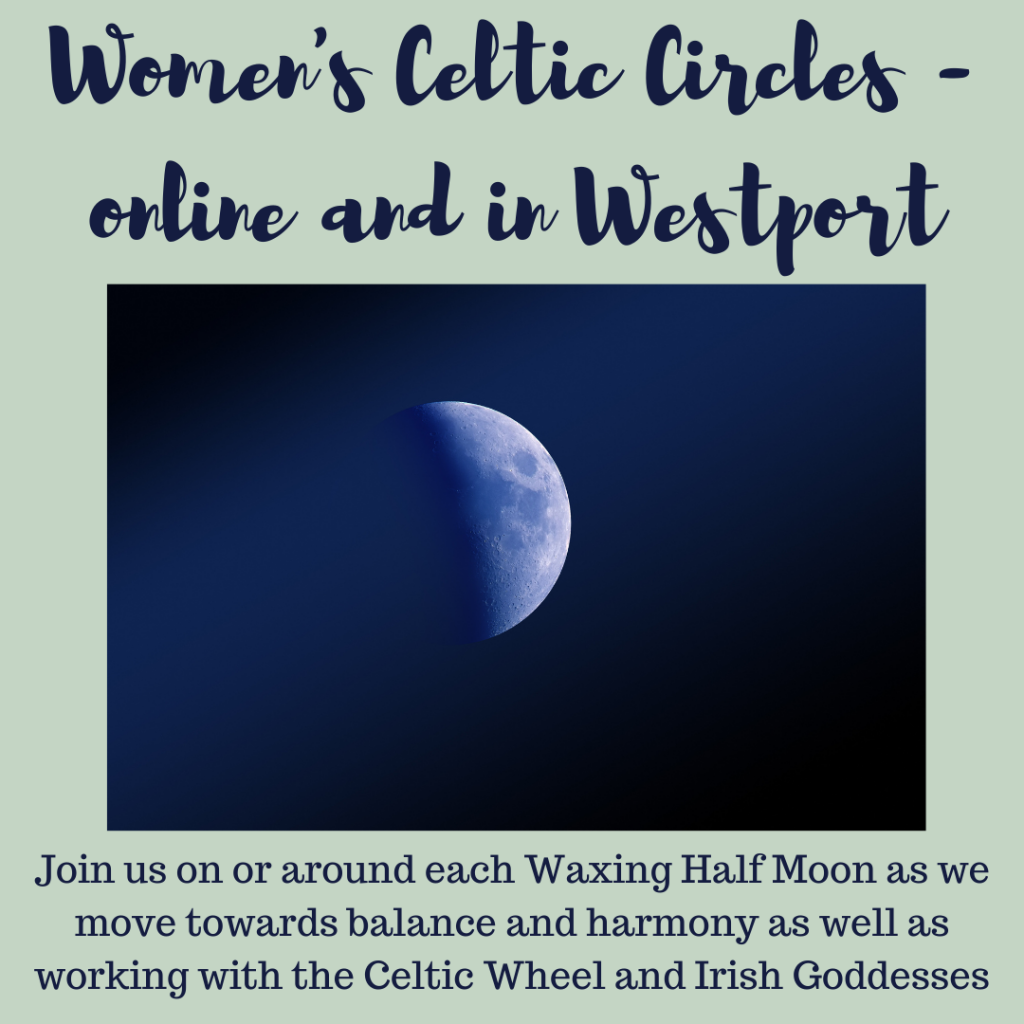 Moon Mna Women's Celtic Circle online and in Westport Co Mayo Ireland
