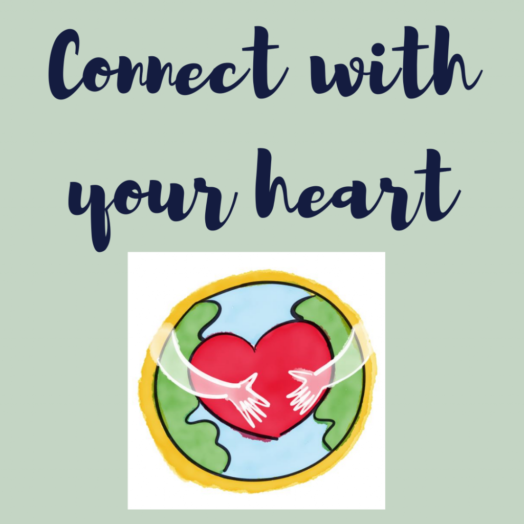 self care to connect with your heart